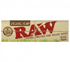 RAW Organic 1 1/4 papers