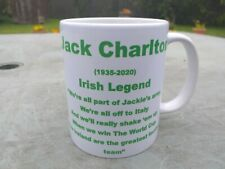 Jack Charlton Irish Legend Memorial  mug 11oz original new Birthday Gift