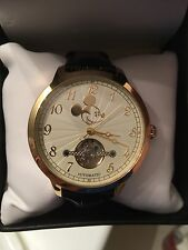 Walt Disney Mickey Mouse Men's Elgin Automatic Watch NEW in Box