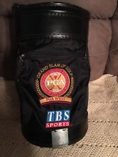 Vintage Rare Miller Pro Golf Bag PGA West Grand Slam TBS Sports Caddie Cooler
