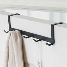 AU Hanger Hat Clothes Hanging Rack Holder Coat Towel Bag Over Door Bathroom 1Pcs