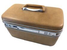 Vintage Samsonite Silhouette Hard Case Travel Cosmetic Luggage No Keys