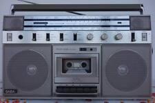1982er SABA RCR 406 Stereo Radio Breitband Cassette Recorder  Ghetto Blaster