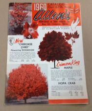 Allene nurseries and seed house co catalog FREE SHIPPING  INV-P1120