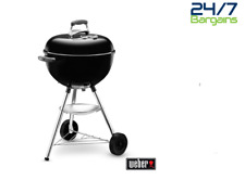 Weber Bar-b-kettle 47cm Charcoal Kettle Barbecue Gourmet Barbecue System