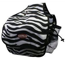 ZEBRA Print Insulated Nylon Cordura Western Horse Saddle Bag NEW HORSE TACK