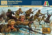 Italeri - Russian infantry (winter uniform-WWII) - 1:72