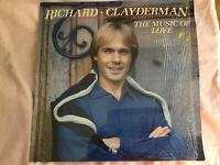 Richard Clayderman The Music of Love Original LP Album Record Vinyl