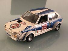 Jouet Ancien Burago Fiat Ritmo Abarth Monte Carlo 1980 1/24