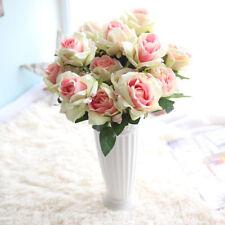 Artificial Rose Silk Flowers Bridal Bouquet Wedding Party Valentine's Day Decor