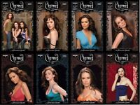 CHARMED COMPLETE SET OF ALL 8 PHOTO COVERS 5 ISSUES DYNAMITE COMICS 2017