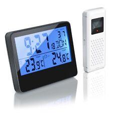 Bearware Funk Wetterstation | Wecker | Uhrzeit | Innen-/ Außentemperatur | DCF
