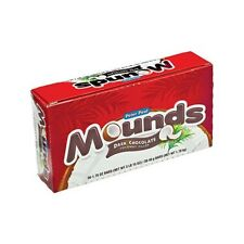 Mounds Coconut Filled Dark Chocolate Candy Bars 1.75 oz each Bar 36 ct