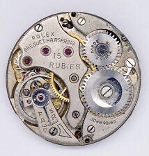 Rolex 13 Ligne 15 Gioiello Orologio Movimento Sares riparazioni s154
