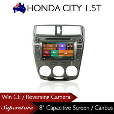 "8"" Car DVD GPS Navigation Head Unit Stereo Radio for HONDA CITY 2008-2012"