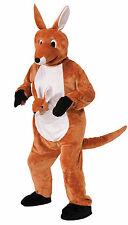 Adult Jumpin Jenny Kangaroo Mascot Costume Animal Suit Adult Size Standard