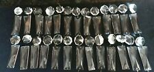 New listing 26 Vintage Antique Chandelier Crystal Glass Prisms 4� Long with Jewels