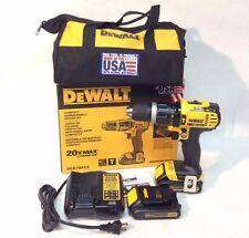Dewalt DCD785C2 New 20V MAX Cordless Li-Ion Compact Drill Driver Kit NIB