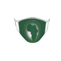 Gesichtsmaske Behelfsmaske Fahne Flagge Afrikanische Union