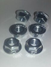 Honda VFR 750 94 95 A2 bright stainless steel rear sprocket nuts x 6. all years