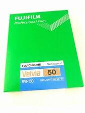 FUJIFILM VELVIA 50 4x5 20 Sheet Film ISO50 CUTVELVIA50NP4X520 4547410246254
