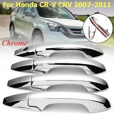 4 Door ABS Chrome Handle Cover Trim For Honda CR-V CRV 2007 2008 2009 2010 2011