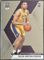 2019-20 Panini Prizm Mosaic Talen Horton Tucker Rookie Card RC Los Angeles Laker