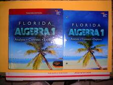 Florida Teacher & Student Edition Algebra 1:  Analyze, Connect, & Explore  @2015