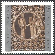 Austria 2011 Religious Art/Bronze Relief/Carving/Artists/Church/People 1v n42535