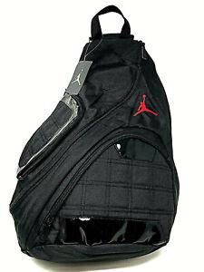 NWT Nike Air Jordan Crossbody Sling Laptop Backpack MSRP: $55 > Fast Shipping!