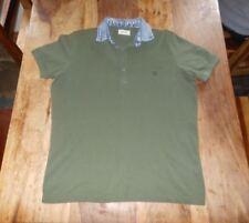 Diesel Para Hombre's Polo Shirt (M) a hoyo 21 in (approx. 53.34 cm)