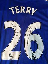 John Terry Signed Chelsea Shirt