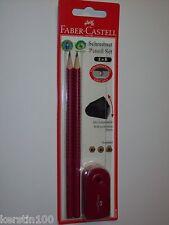 Faber Castell Schreibset Grip Bleistift Mini Spitzdose