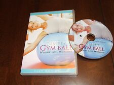 Simply Gym Ball DVD Weight Loss Workout Lucy Knight fitness craze trims tones