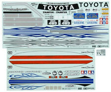 Tamiya HI Lux Sticker A & B Metal Transfer Rubber Sheet 58397 TAM9495521