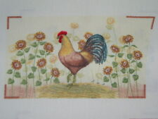 fabric panel, 6 sets of oven mitt tops,  ROOSTER, #2
