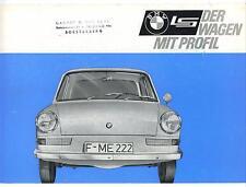 BMW    Folder       LS    Saloon    1964