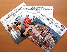 The World Of Gilbert & Sullivan Vol. 1,2 & 3 Decca Stereo 3xLP EXCELLENT