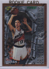 STEVE NASH Topps Finest 1996 RC Phoenix Suns ROOKIE CARD Basketball FUTURE HOFer