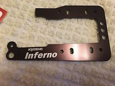 KYOSHO INFERNO MP9 TKI3 TKI4, ONE PIECE ENGINE MOUNT PLATE, OPTION PART, IFW456