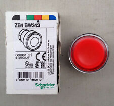 SCHNEIDER XB4 ZB4BW343 RED PUSH BUTTON HEAD 22MM CUTOUT - NEW OLD STOCK