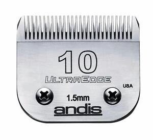Andis Ultraedge Size 10 Professional Hair Clipper Replacement Blade 64071 Barber