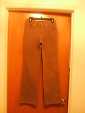 Cambio Basics Jeans 05400 Light Brown 762 Taupe Sz 8 x 31 Inseam Stretch JADE