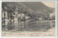 90506 antica cartolina di blevio lago di como