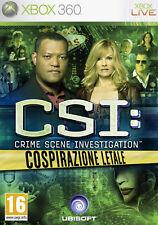 CSI 6 Crimini Insoluti XBOX 360 IT IMPORT UBISOFT