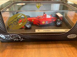 FERRARI F1 F2001 1:43 Schumacher Hot Wheels