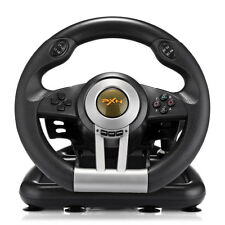 PXN V3II Racing Game Steering Wheel with Brake Pedal For PC PS3 PS4 Xbox One NEW