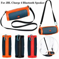 Silicone Protective Sling Storage Case Cover for JBL charge 4 Bluetooth Speaker