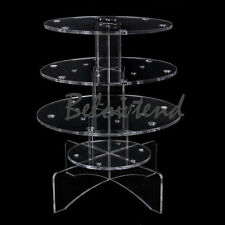Acrylic Cake Pop / Lollipop Cupcake CUP Cake  Display Stand Tower Holder