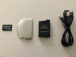 Sony PSP Revival Kit Battery, Charger, Cover, SD Adapter 2000 2001 3000 3001